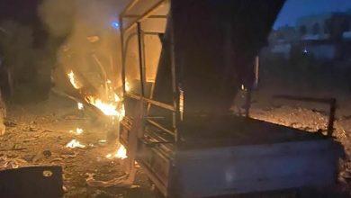 صورة مقتل طفلة وإصابة 5 بسقوط صواريخ على المنطقة الخضراء في بغداد