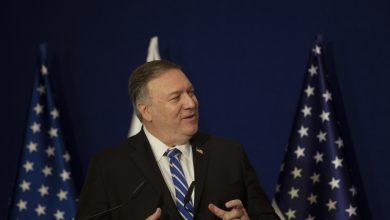 """صورة بومبيو: سياسة أمريكا اتجاه إيران لن تتغير بمغادرة """"ترامب"""""""