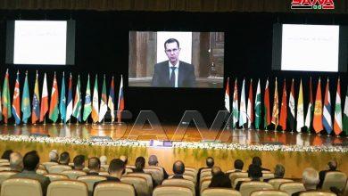 """صورة """"الأسد"""" البعيد عن الواقع … """"قضية اللاجئين مفتعلة"""""""