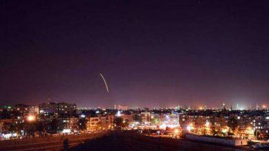 صورة قتلى عسكريين بقصف جوي إسرائيلي استهدف مدينة دمشق
