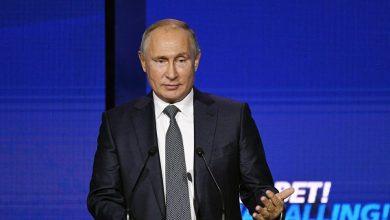 صورة بوتين: وقف إطلاق النار ونشر قوات حفظ سلام روسية في قره باغ