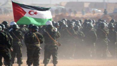 """صورة جبهة """"البوليساريو"""" تقصف قواعد تابعة للجيش المغربي"""