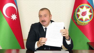 صورة أذربيجان تعلن انتهاء الحرب والنصر على أرمينيا