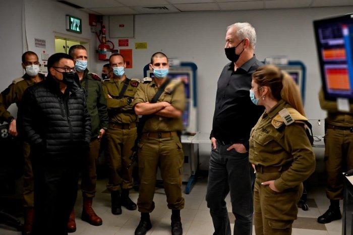 وزير الدفاع الإسرائيلي
