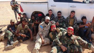"""صورة قتيلان من """"لواء القدس"""" باشتباك مع """"داعش"""""""