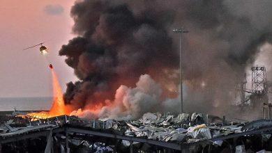 """صورة """"دياب"""" قيد المساءلة القانونية في انفجار مرفأ بيروت"""