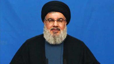 صورة نصرالله متهماً بن سلمان: اقترح اغتيالي خلال زيارته إلى واشنطن