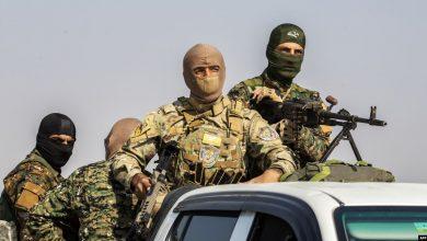 """صورة """"قسد"""" تعتقل ثلاث شبان بتهمة الانتماء لـ """"داعش"""""""