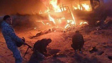 صورة مجزرة تمزق الجيش السوري.. 30 قتيلا من الفرقة الرابعة في كباجب