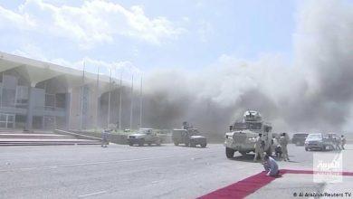 """صورة """"معين عبد الملك"""" يتهم إيران بالضلوع بالهجوم على مطار عدن"""