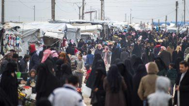 صورة قرابة الـ 100 طفل وامرأة يغادرون سوريا إلى أوزباكستان