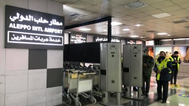 صورة بعد 8 سنوات.. عودة مطار حلب الدولي للعمل