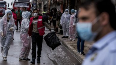 """صورة """"كورونا"""" يستبيح سوريا"""