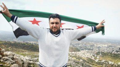 صورة اغتيال الإعلامي حسين خطاب شمال حلب