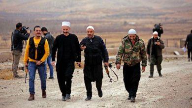 """صورة حزب الله يمهد لـ """"داعش"""" لمهاجمة السويداء"""