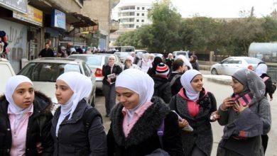 """صورة دراسة سورية: 62 من طلاب المدارس """"غاضبون"""""""