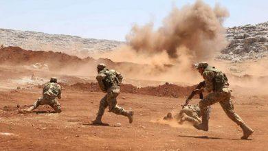 """صورة عشرات القتلى والجرحى من """"النظام"""" و""""داعش"""" باشتباكات مستمرة في البادية السورية"""
