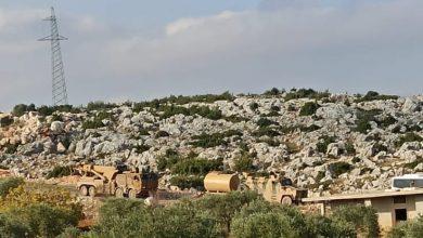 صورة بعد نقطة كنصفرة الجيش التركي ينشئ نقطة خامسة جديدة في إدلب