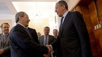 صورة بعد إيران .. المقداد في روسيا لمناقشة الحل السياسي