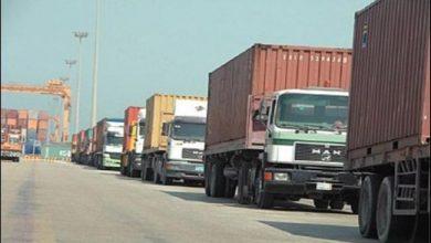 صورة صادرات متنوعة من سوريا إلى العراق تحت الإشراف الايراني