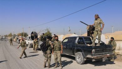 صورة قتيل وجرحى باشتباك مسلح بين عناصر من الجيش الوطني