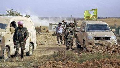 """صورة قتيلان من """"قسد"""" بتفجير استهدفهما في دير الزور"""