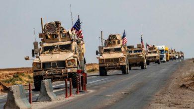 """صورة تعزيزات أمريكية في مناطق """"قسد"""" على الحدود مع تركيا"""