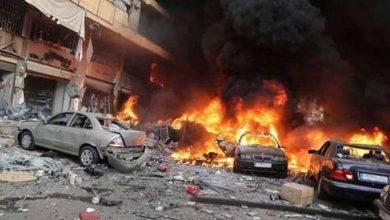 صورة مئة قتيل وجريح بانفجار انتحاري مزودج وسط بغداد