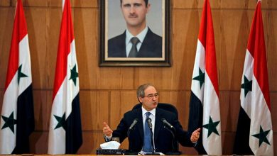 """صورة أوروبا تعاقب وزير خارجية الأسد.. """"ممنوع دخول أراضينا"""""""