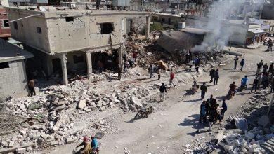 صورة 3 إصابات بانفجار مزدوج في ريف درعا