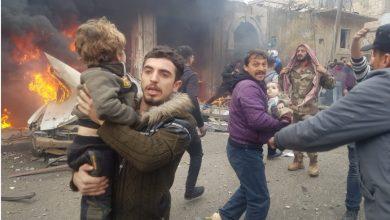 صورة لليوم الثاني على التوالي.. الانفجارات تهز ريف حلب