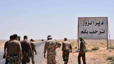 صورة مقتل قيادي تابع لإيران بانفجار في دير الزور