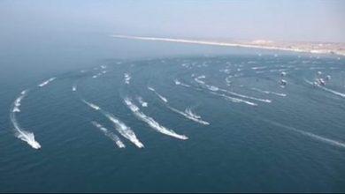 """صورة """"الباسيج"""" تنشر 700 قارب في مياه الخليج"""
