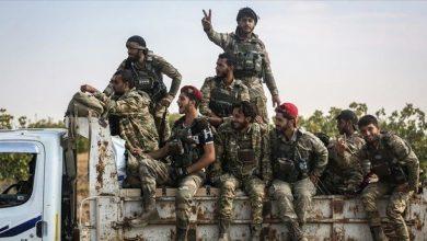 صورة اغتيال قيادي في الجيش الوطني شمال الرقة