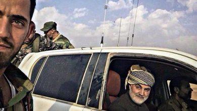 صورة خامنئي يكذب: إيران لا تتدخل في سوريا