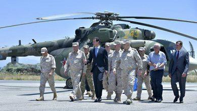 صورة اجتماع سوري – إسرائيلي برعاية روسية لإخراج إيران