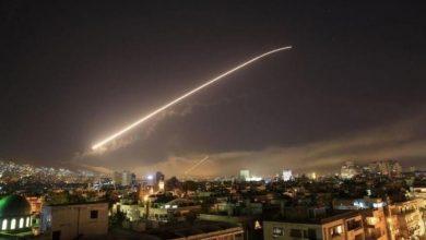 صورة غارات إسرائيلية تستهدف مواقع إيرانية في سوريا