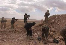 """Photo of 12 Syrian army dead in an attack by """"ISIS"""" in Hama"""