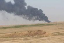 """صورة خروج خط غاز في """"دير الزور"""" عن الخدمة"""