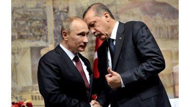 """صورة """"أردوغان"""" و""""بوتين"""" يبحثان الملف السوري هاتفياً"""