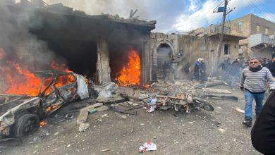 """صورة تركيا: """"الوحدات الكردية"""" وراء تفجيري أعزاز والباب"""