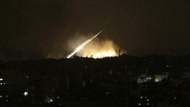 """صورة """"إسرائيل"""" تقصف محيط """"دمشق"""""""