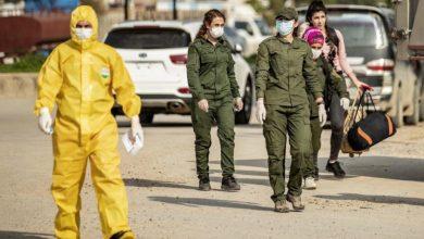 """صورة أكثر من 9000 إصابة بكورونا في مناطق سيطرة """"قسد"""""""