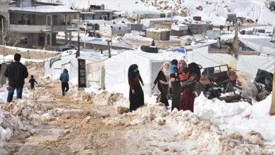 صورة وفاة سيدتين وطفلين سوريين أثناء محاولتهم اللجوء إلى لبنان