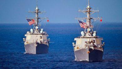 صورة مدمرتان أمريكيتان تتوجهان إلى البحر الأسود