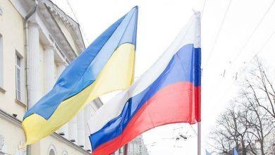 صورة مقتل جندي أوكراني على يد روسيين