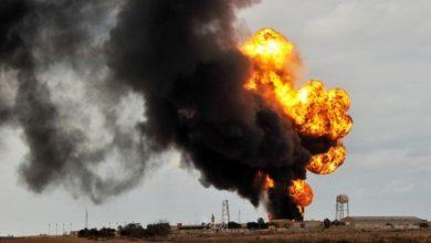 صورة حادث بمنشأة نطنز النووية الإيرانية