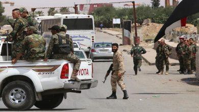 صورة هجوم على أحد حواجز النظام في جبلة