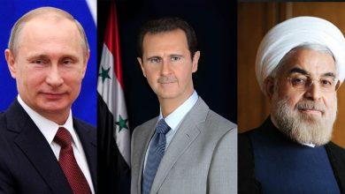صورة غرفة عمليات روسية إيرانية لدعم النظام السوري اقتصاديا