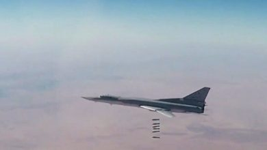 صورة على ذمة موسكو.. 200 قتيل داعشي في تدمر